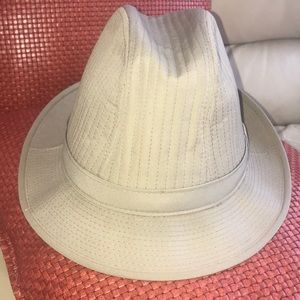 Stetson cotton blend vintage fedora hat